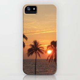 Sunset at Mauna Kea Beach iPhone Case