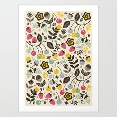 Very Berry Art Print