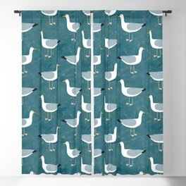 Seagull Standing Blackout Curtain