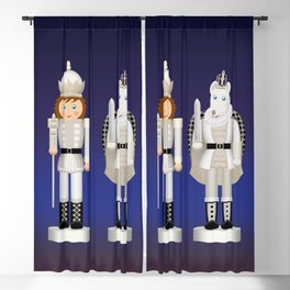 Toy King and Mouse King on Christmas Eve. Blackout Curtain
