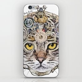 Sci Fi Cat iPhone Skin