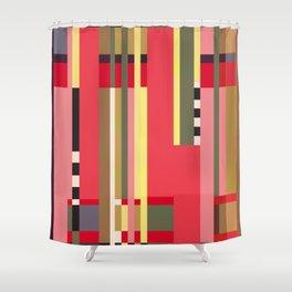 Geometric design - Bauhaus inspired Shower Curtain