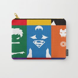 Spider Man Hulk Iron sign Captain Carry-All Pouch