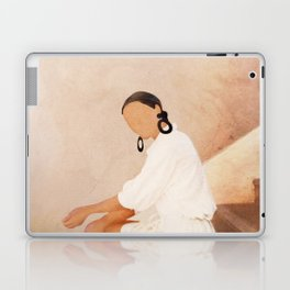 Lady in Waiting Laptop & iPad Skin
