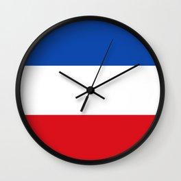 Flag of Quetzaltenango Wall Clock