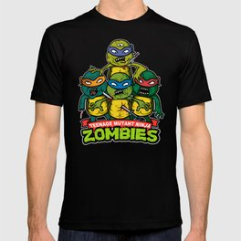 Teenage Mutant Ninja Zombies T-shirt