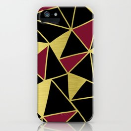 Golden Triangles iPhone Case