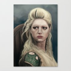 Shieldmaiden Canvas Print
