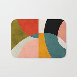 geometry shapes 3 Bath Mat