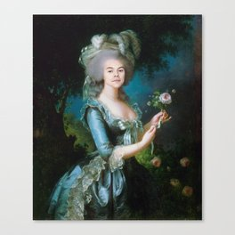 Queen Harry Styles Canvas Print
