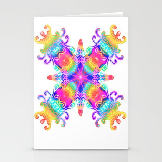 Colours Colours Stationery Cards