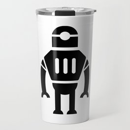 Giant Evil Robot Travel Mug