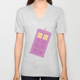 Spaceship Jamboree! Unisex V-Neck