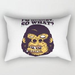 Hungry Gorilla Rectangular Pillow