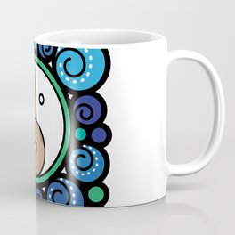 Blue Child - Niño Azul Coffee Mug