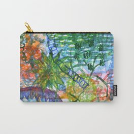 Jungle View With Rope Ladder Carry-All Pouch