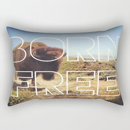 Born Free Rectangular Pillow