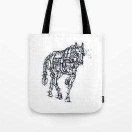 mechanical horse Tote Bag