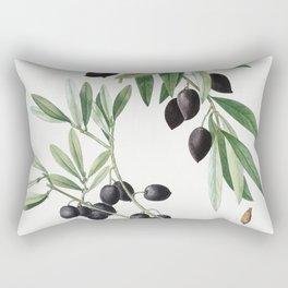 Olive (Olea europaea) from Traite des Arbres et Arbustes que lon cultive en France en pleine terre ( Rectangular Pillow