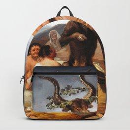 Francisco de Goya - Witches Sabbath (El Aquelarre) 1798 Artwork for Wall Art, Prints, Posters, Tshir Backpack