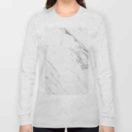Marble - Classic Real Marble Long Sleeve T-shirt