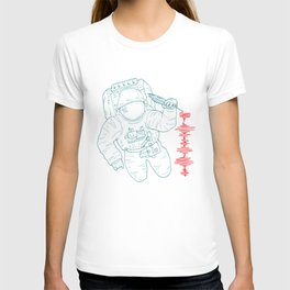 The message (spaceman) T-shirt