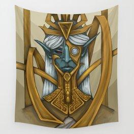 Clockwork God Wall Tapestry