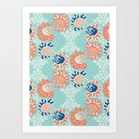 nouveau Art Prints featuring NOUVEAU by Sarah Doherty