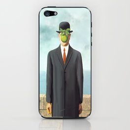 The Apple man iPhone Skin