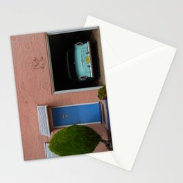 Blue Swallow Motor Court Garage with Hudson Route 66 Stationery Cards