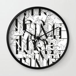 The Time Machine Wall Clock
