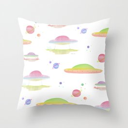Outer Worldly  Throw Pillow