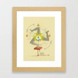 NP 006 Framed Art Print
