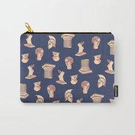 Greek classical statues pattern Carry-All Pouch