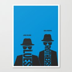 The Blues Brothers minimalist poster Canvas Print