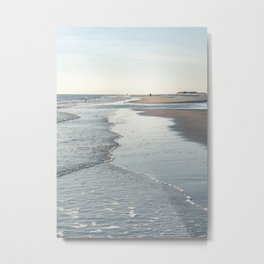 Amrum Beach Metal Print