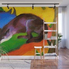 Franz Marc - Blue-Black Fox Wall Mural