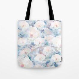 Pastel Flower Field Tote Bag