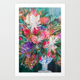 Flora Flora Art Print