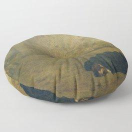 Jean-Léon Gérôme - The Execution of Marshal Ney (La Mort du Maréchal Ney) Floor Pillow