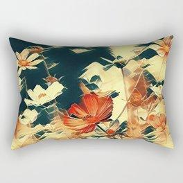 Cosmos in Abstract Rectangular Pillow