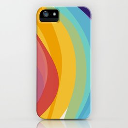 Fig. 045 Colorful Swirls iPhone Case