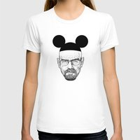 walter white T-shirts featuring Walter White by Barbo's Art