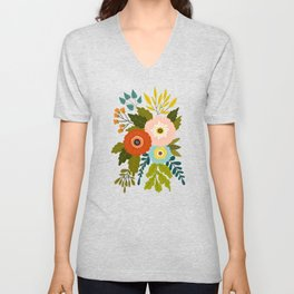 Country Bunch No. 1 Unisex V-Neck