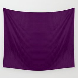 Mini Zombie Purple and Black Horizontal Witch Pin Stripes Wall Tapestry
