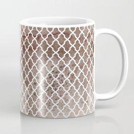 Coffee Trellis Pattern Coffee Mug