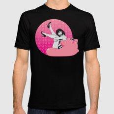 Geekette sur Kirby MEDIUM Mens Fitted Tee Black