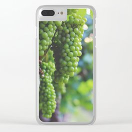 Drink More Wine in Napa Clear iPhone Case