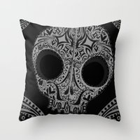 spice Throw Pillows featuring sugar & spice. by kyrstens