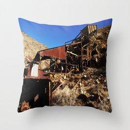 Ballarat Ghost Town Throw Pillow